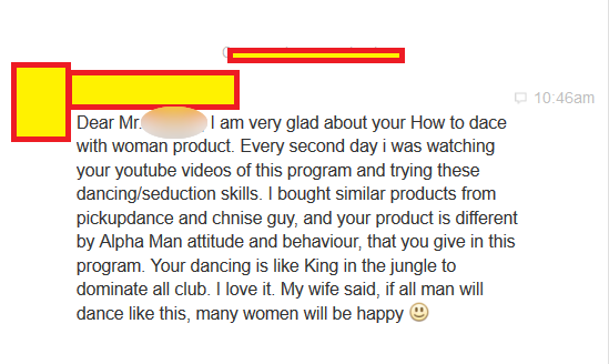 How to dance with a woman DVD program
