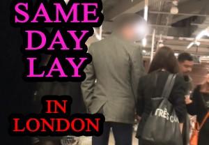 same day lay london