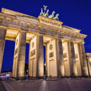 Brandenburg Gate in Berlin, Germany.Brandenburg Gate in Berlin, Germany.